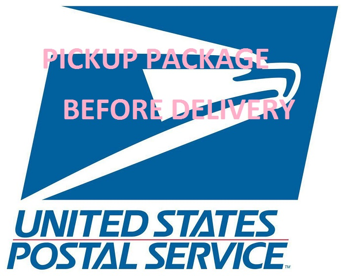 pickup usps package before delivewry