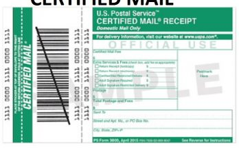 How To Send Certified Letter.How To Send Certified Mail Usps Gudies
