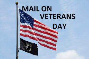 does mail run on veterans day