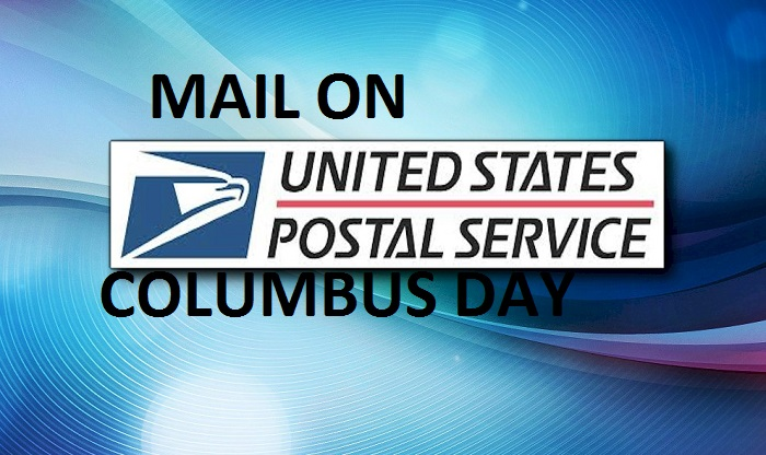 is there mail on columbus day