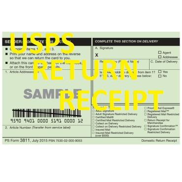 usps return receipt